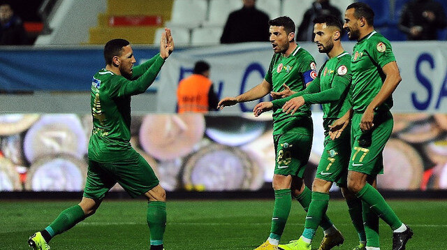 Akhisarspor Türkiye Kupası'nda yarı finalde