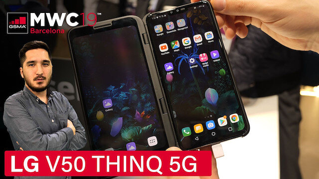 LG V50 ThinQ 5G modelini inceledik