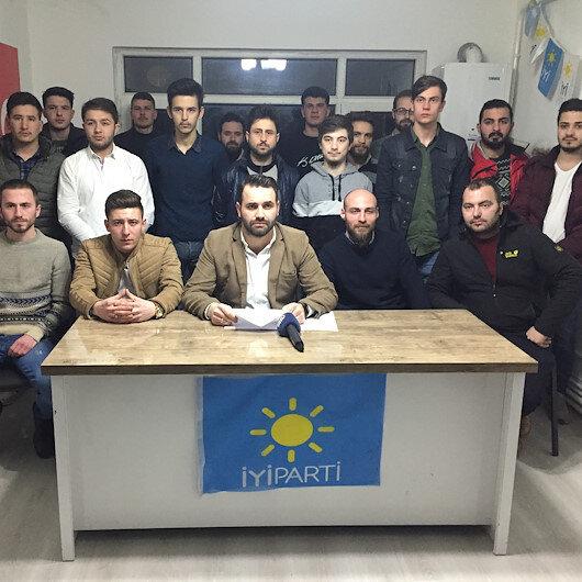 Kırklareli'nde İyi Parti üyesi 40 kişi istifa etti