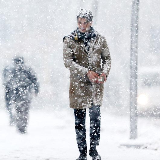 2 ile yoğun kar yağışı uyarısı
