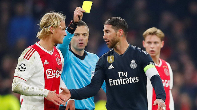 UEFA'dan Ramos'a 2 maç ceza