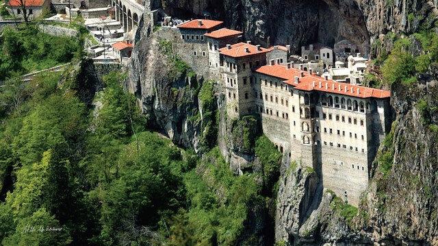 Sümela Manastırı'nın 18 Mayıs'ya açılacak