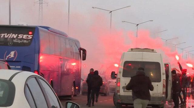 Galatasaraya Erzurumda coşkulu karşılama