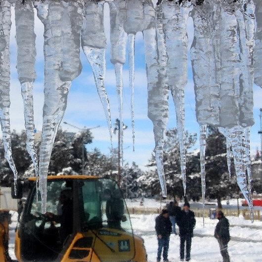 Doğu Anadolu buz kesti: Erzurum eksi 25