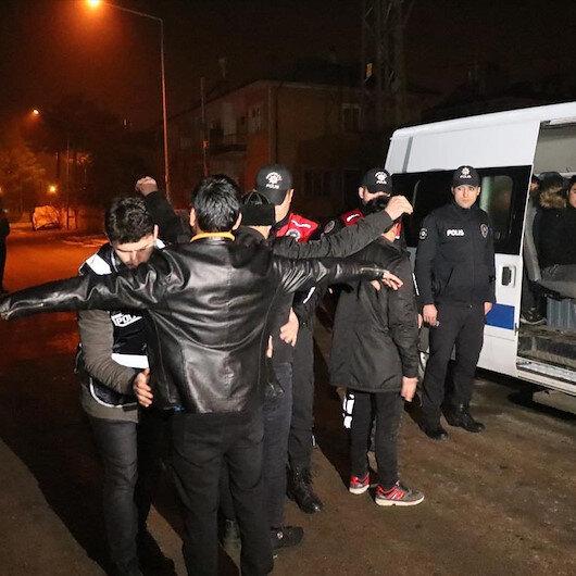 Erzincan'da 49 düzensiz göçmen yakalandı