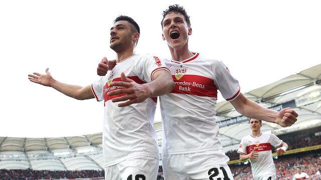 Ozan Kabak Stuttgart formasıyla ilk gollerini Hannover'e attı