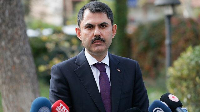 Çevre ve Şehircilik Bakanı Murat Kurum.