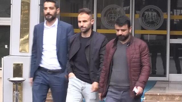 Kesici aletle futbolcuları yaralayan Amed Sporlu Mansur soruları yanıtsız bıraktı