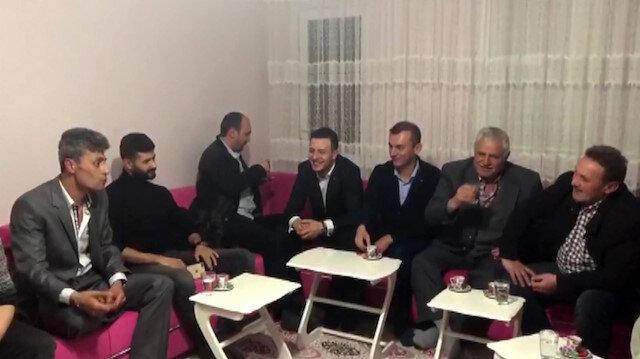 Bize her yer Trabzon diye bağıran genç muradına erdi