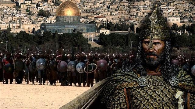 Kudüs fatihi Selahaddin, 2 Ekim 1187 Cuma günü Kudüs'ü fethetti.