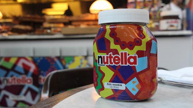 2 milyon Türk motifi Nutella kavanozlarındaki yerini aldı