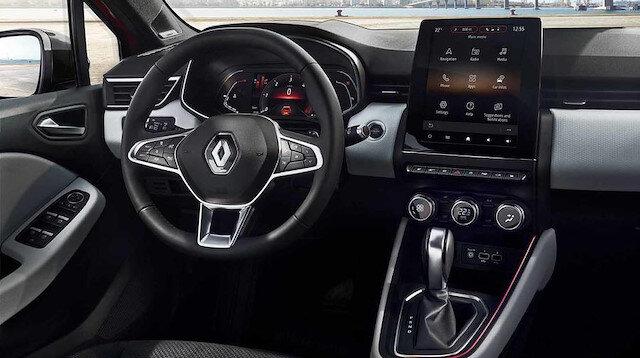 2019 Renault Clio'ya ait tüm detayar