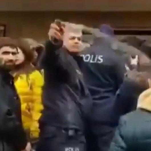 Denizli'de mültecilere biber gazı sıkan polise soruşturma