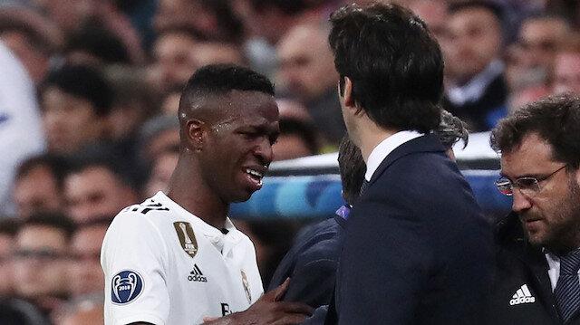 Vinicius Junior 2 ay futbol oynayamayacak