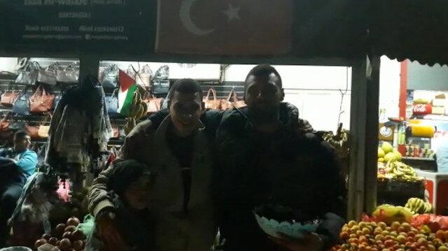 Filistinli gençlerden Erdoğana Türkçe mesaj