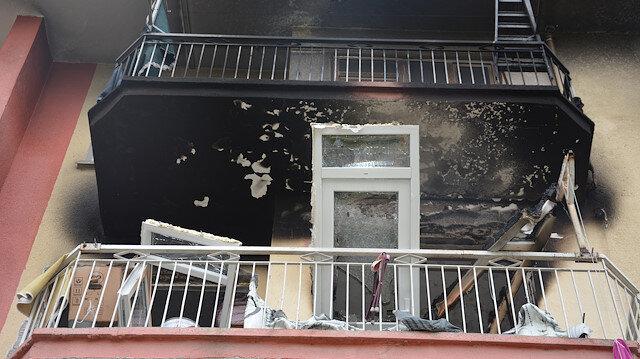 Apartmanda doğal gaz patlaması: 1 ölü, 3 yaralı
