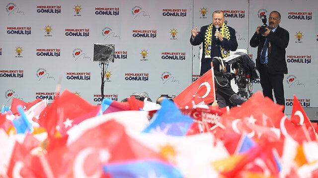 Cumhurbaşkanı Erdoğan: Benim işim yöneticilerle, halkımla değil