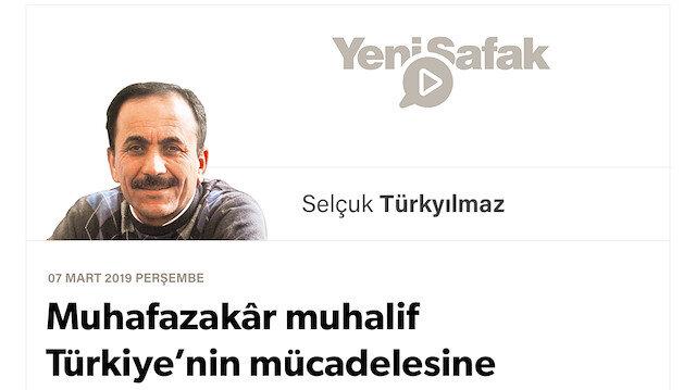 Muhafazakâr muhalif Türkiye'nin mücadelesine niçin inanmıyor?