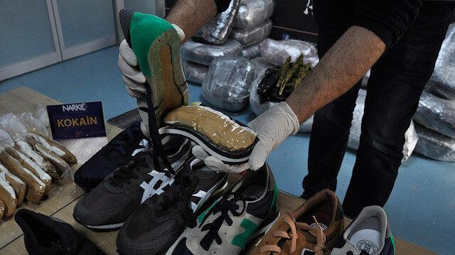 Brezilyadan Adanaya ayakkabı içinde kokain getirmiş
