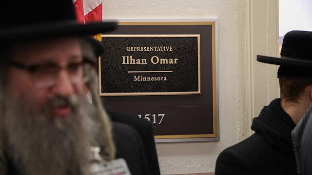 Yahudilerden Ilhan Omar'a destek ziyareti