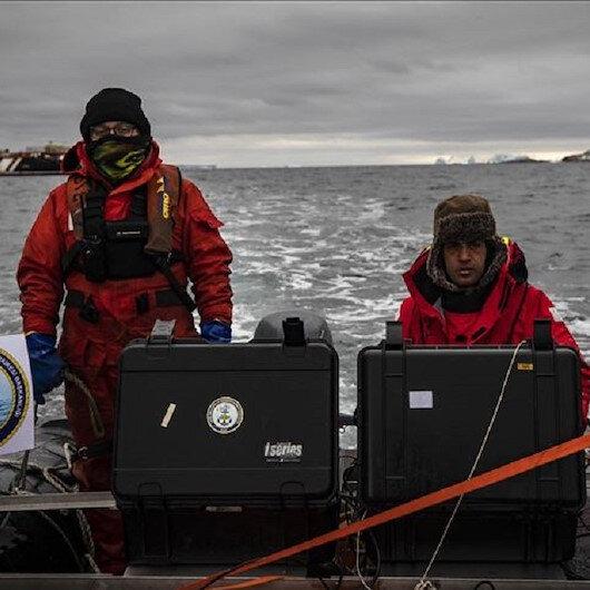 هذا ما قام به فريق البحث العلمي التركي في القطب الجنوبي
