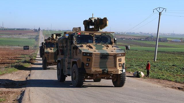 Turkish troops begin patrols in Syria's Idlib