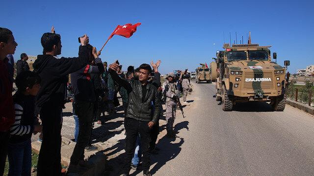TSK'nın İdlib'deki birinci devriye faaliyeti tamamlandı