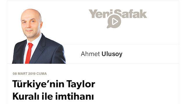 Türkiye'nin Taylor Kuralı ile imtihanı