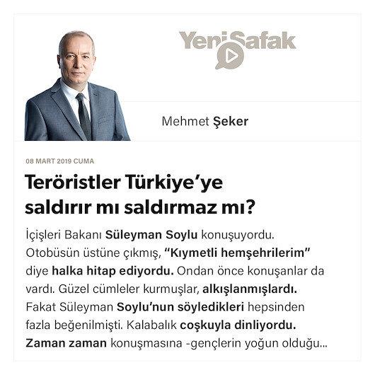 Teröristler Türkiye'ye saldırır mı saldırmaz mı?