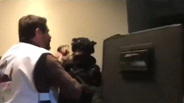 Terörist başı için eylem yapan HDPli vekiller polise saldırdı