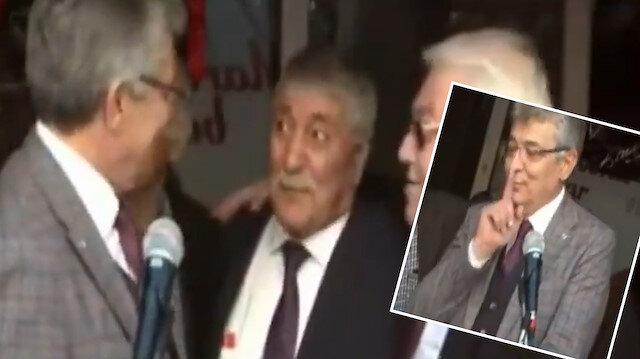 CHP mitinginde mikrofon açık kaldı: Müezzine hakaret, HDP itirafı