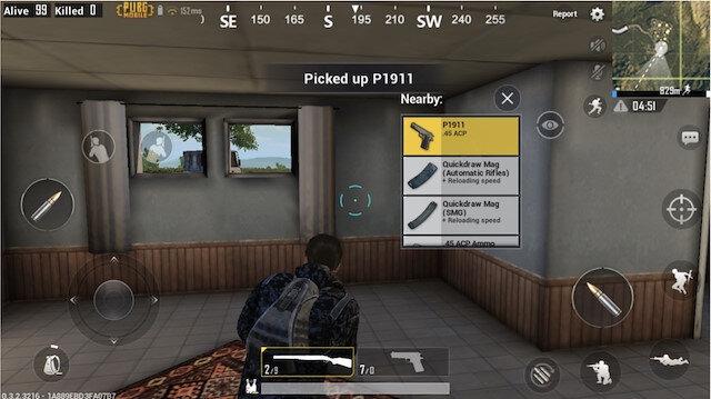 PUBG Mobile oyun içi görseli.