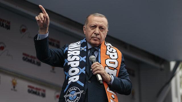 Erdoğan'dan Taksim'de ezanın ıslıklanmasına sert tepki