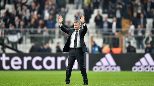 Şenol Güneş, Beşiktaş'ın başında 2 şampiyonluk yaşama başarısı gösterdi.