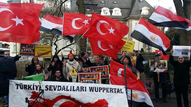 Mısırdaki idamlar Almanyada protesto edildi