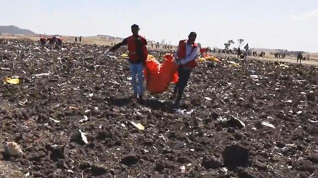 Kurtulanın olmadığı Etiyopya uçağının karakutusu bulundu