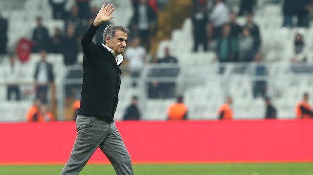 Şenol Güneş, Konyaspor maçı öncesi ve sonrasında siyah-beyazlı taraftarlardan tepki gördü.