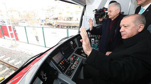 Gebze-Halkalı banliyö hattı açıldı