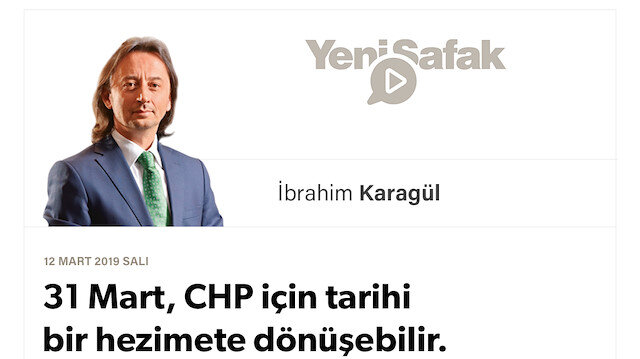 """* 31 Mart, CHP için tarihi bir hezimete dönüşebilir. * """"Kılıçdaroğlu Projesi""""nin ikinci ayağı uygulanıyor. * CHP artık bir ulusal güvenlik meselesidir."""