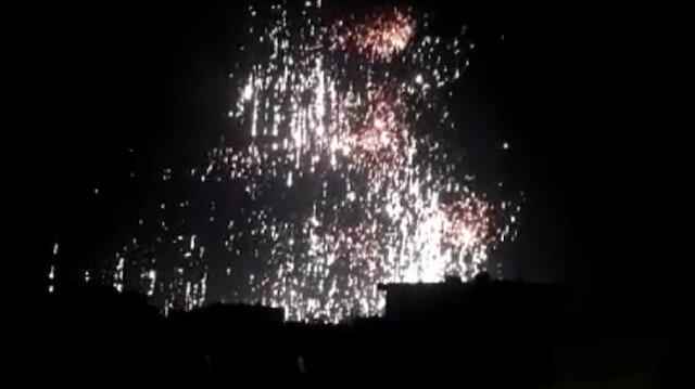 Esed rejiminden İdlib'e beyaz fosforlu saldırı