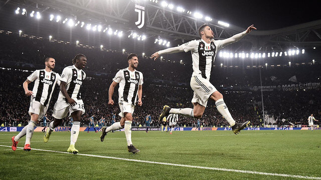 Cristiano Ronaldo, Atletico Madrid maçında hat-trick yaptı.