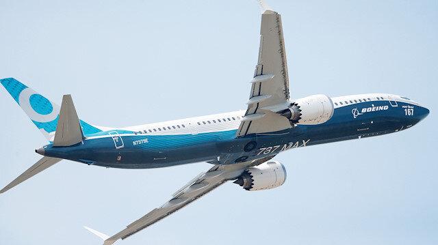 Boeing yere indirildi