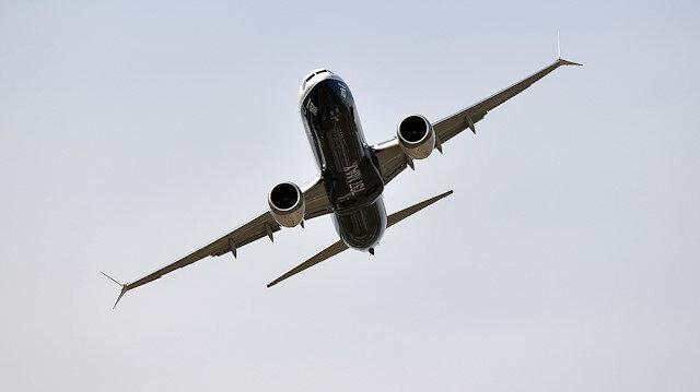 ABD merkezli Boeing şirketinin 737-8 Max tipi uçağı
