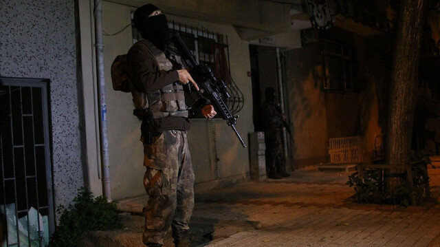 Özel Harekat Polisi operasyon