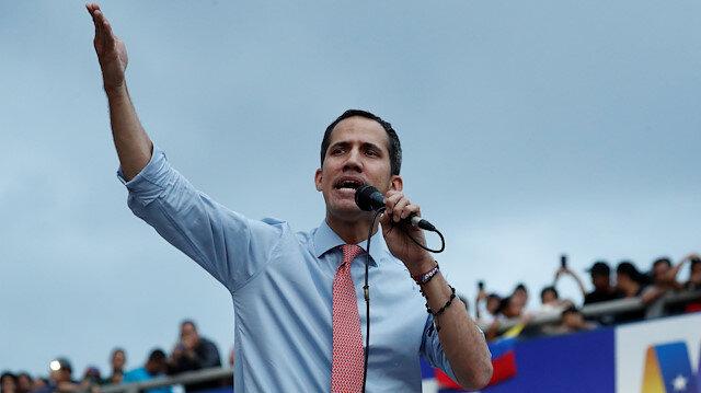 Venezuela's opposition leader and self-declared interim President Juan Guaido
