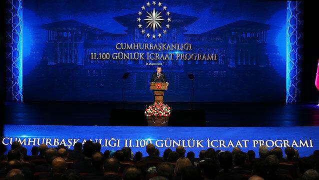 İkinci 100 Günlük Eylem Planı'nı Cumhurbaşkanı Erdoğan 13 Aralık 2018 tarihinde açıklamıştı.