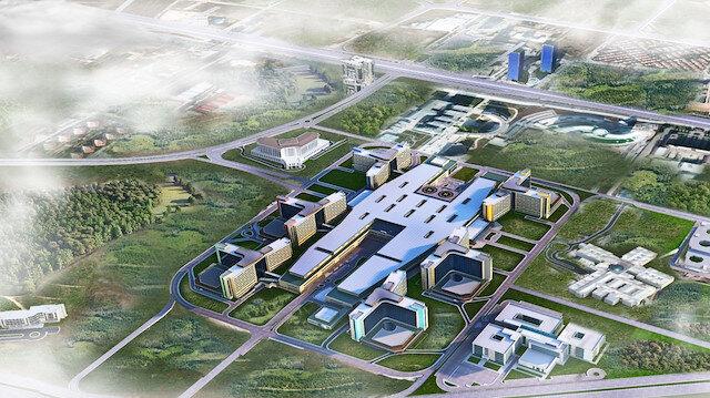 Avrupanın en büyüğü olan Bilkent Şehir Hastanesi açıldı