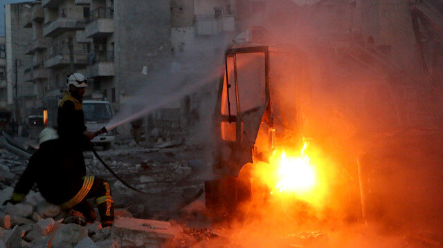 İdlib'de Rusya'nın vurduğu cezaevindeki DEAŞ'lılar firar etti