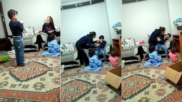 Adana'da üvey anne şiddeti