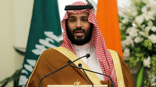 File photo: Saudi Arabia's Crown Prince Mohammed bin Salman speaks during a meeting